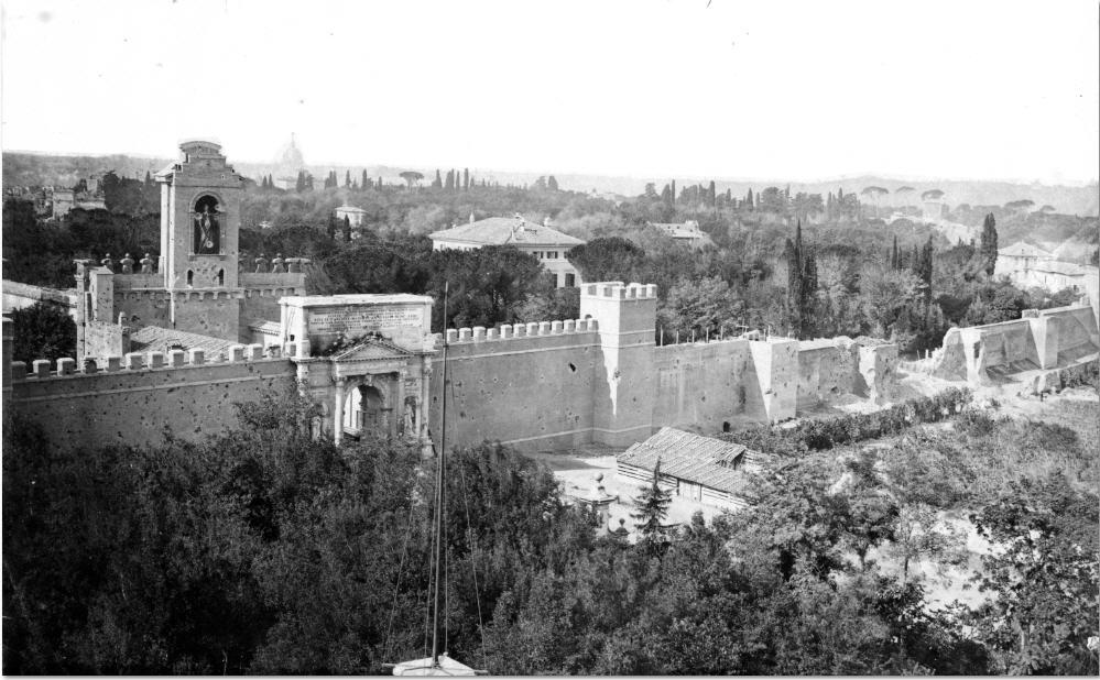 Breccia Porta Pia Wall Rome